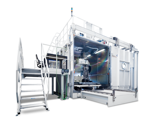 EBOCAM large-scale chamber machine
